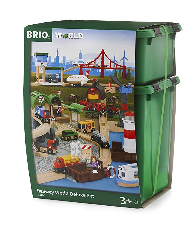 circuit train bois brio monde deluxe