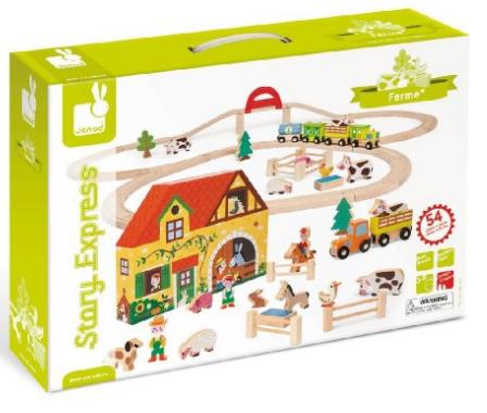 circuit train en bois qu 39 acheter pour un enfant de 3 ans. Black Bedroom Furniture Sets. Home Design Ideas