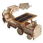 Train qui avance à l'énergie solaire !