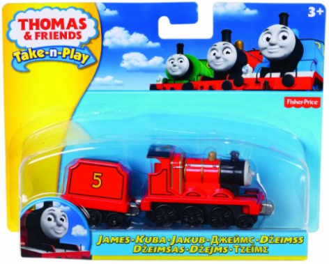 Train fisher price inspiré de l'univers de la série Thomas & ses amis